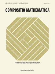 Compositio Mathematica Volume 148 - Issue 6 -