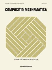Compositio Mathematica Volume 150 - Issue 4 -