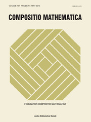Compositio Mathematica Volume 151 - Issue 5 -