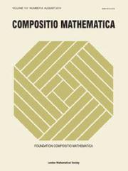 Compositio Mathematica Volume 151 - Issue 8 -