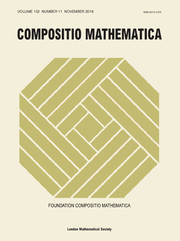 Compositio Mathematica Volume 152 - Issue 11 -
