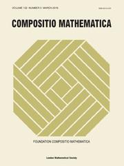 Compositio Mathematica Volume 152 - Issue 3 -
