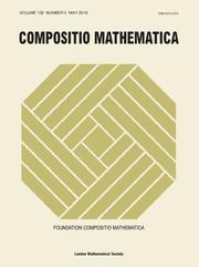 Compositio Mathematica Volume 152 - Issue 5 -