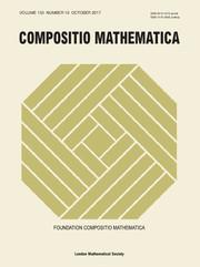 Compositio Mathematica Volume 153 - Issue 10 -
