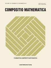 Compositio Mathematica Volume 153 - Issue 12 -