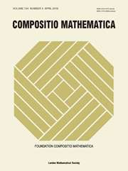 Compositio Mathematica Volume 154 - Issue 4 -