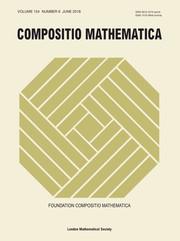 Compositio Mathematica Volume 154 - Issue 6 -