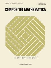 Compositio Mathematica Volume 155 - Issue 4 -