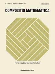 Compositio Mathematica Volume 155 - Issue 8 -