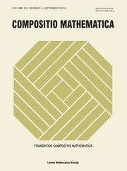 Compositio Mathematica Volume 155 - Issue 9 -