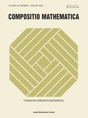 Compositio Mathematica Volume 156 - Issue 1 -