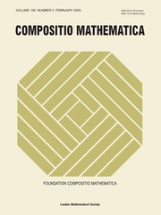 Compositio Mathematica Volume 156 - Issue 2 -