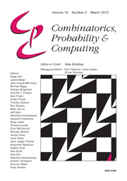 Combinatorics, Probability and Computing Volume 19 - Issue 2 -
