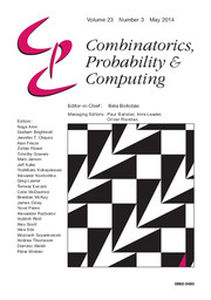 Combinatorics, Probability and Computing Volume 23 - Issue 3 -