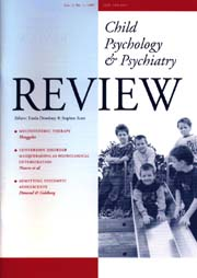 Child Psychology and Psychiatry Review