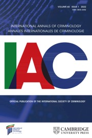 International Annals of Criminology