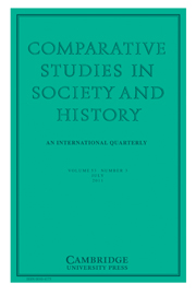 Comparative Studies in Society and History Volume 53 - Issue 3 -