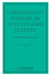 Comparative Studies in Society and History Volume 57 - Issue 3 -