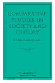 Comparative Studies in Society and History Volume 58 - Issue 1 -