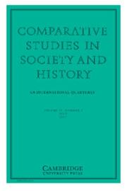Comparative Studies in Society and History Volume 59 - Issue 3 -