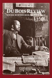 Du Bois Review: Social Science Research on Race Volume 8 - Issue 2 -