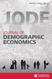 Journal of Demographic Economics Volume 83 - Issue 2 -