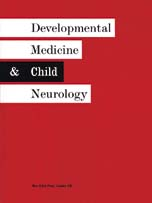 Developmental Medicine and Child Neurology Volume 46 - Issue 9 -