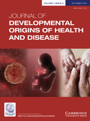 Journal of Developmental Origins of Health and Disease Volume 1 - Issue 5 -