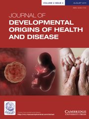 Journal of Developmental Origins of Health and Disease Volume 2 - Issue 4 -
