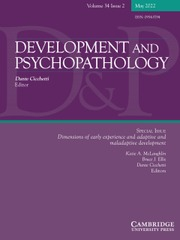 Development and Psychopathology
