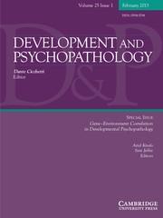 Development and Psychopathology Volume 25 - Issue 1 -  Gene–Environment Correlation in Developmental Psychopathology