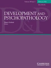 Development and Psychopathology Volume 28 - Issue 1 -