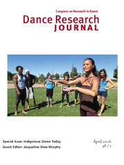 Dance Research Journal Volume 48 - Special Issue1 -  Indigenous Dance Today