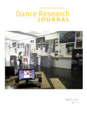 Dance Research Journal Volume 50 - Issue 1 -