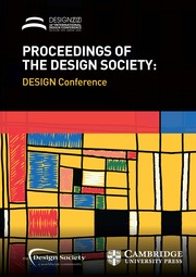 Proceedings of the Design Society: DESIGN Conference