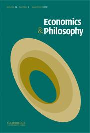 Economics & Philosophy Volume 24 - Issue 3 -  Neuroeconomics