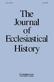 The Journal of Ecclesiastical History Volume 54 - Issue 3 -