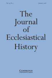 The Journal of Ecclesiastical History Volume 59 - Issue 1 -