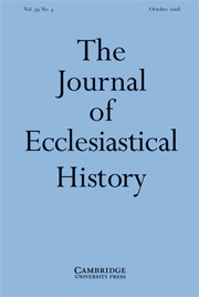 The Journal of Ecclesiastical History Volume 59 - Issue 4 -