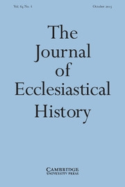 The Journal of Ecclesiastical History Volume 64 - Issue 4 -