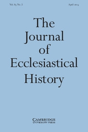 The Journal of Ecclesiastical History Volume 65 - Issue 2 -