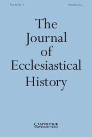 The Journal of Ecclesiastical History Volume 65 - Issue 4 -