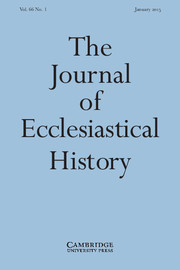 The Journal of Ecclesiastical History Volume 66 - Issue 1 -