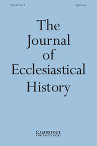The Journal of Ecclesiastical History Volume 66 - Issue 2 -