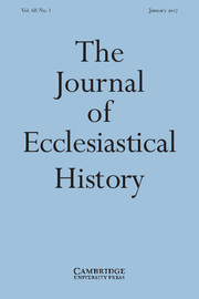 The Journal of Ecclesiastical History Volume 68 - Issue 1 -