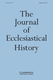 The Journal of Ecclesiastical History Volume 69 - Issue 1 -