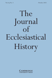 The Journal of Ecclesiastical History Volume 69 - Issue 4 -