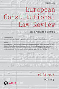 European Constitutional Law Review Volume 8 - Issue 3 -