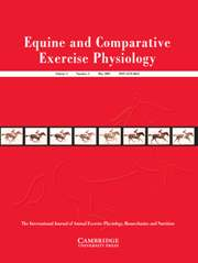 Equine and Comparative Exercise Physiology Volume 4 - Issue 2 -