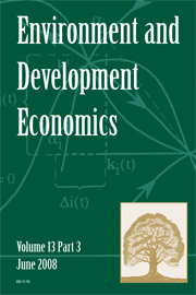 Environment and Development Economics Volume 13 - Issue 3 -  Payment for ecosystem services